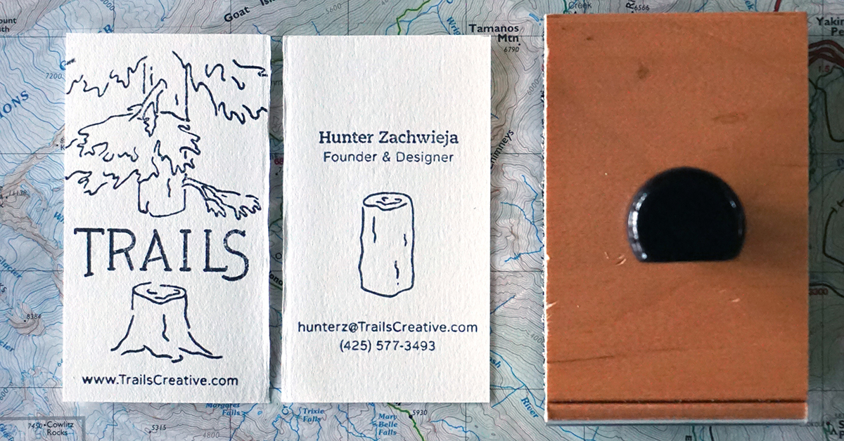 Trails Creative Business Card